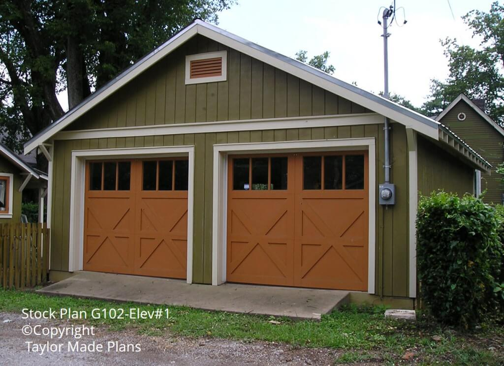 Garages outbuildings tiny houses portfolio archives for Small house plans with 2 car garage