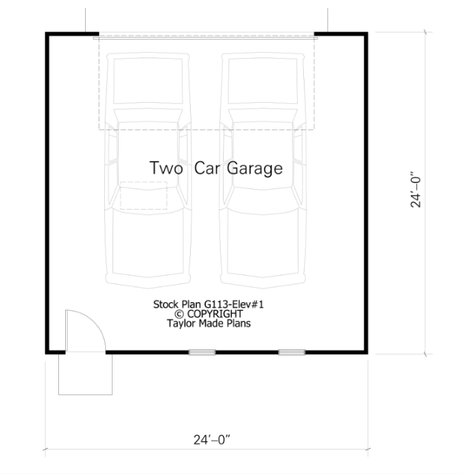 How big is a 2 car garage in square feet home desain 2018 for How big is two car garage