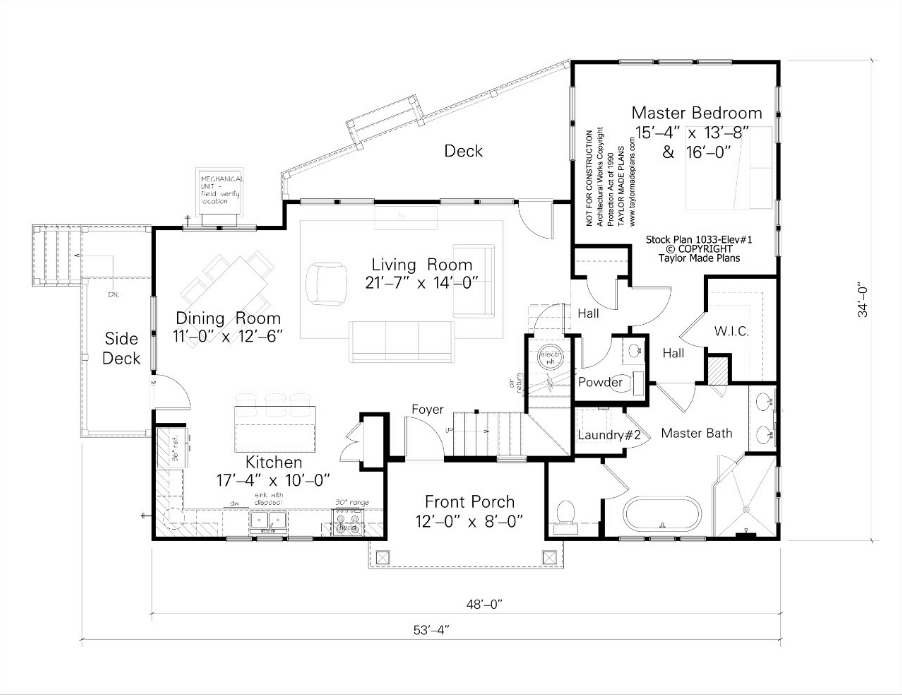 Taylor made home floor plans for Taylor made homes
